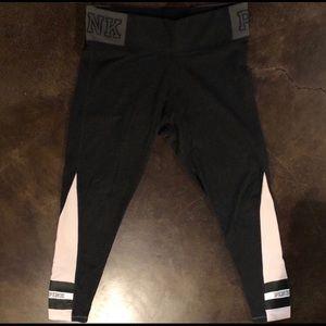PINK Victoria's Secret Pants - •PINK YOGA LEGGINGS•